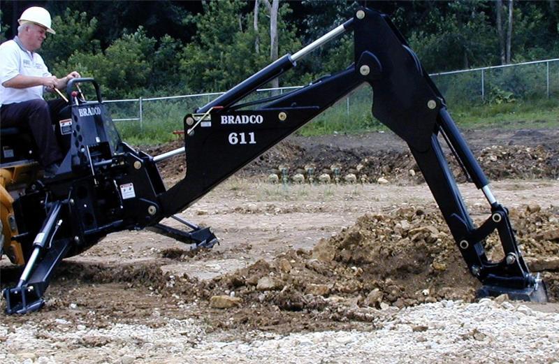 Bradco 611 Backhoe   Talet Equipment