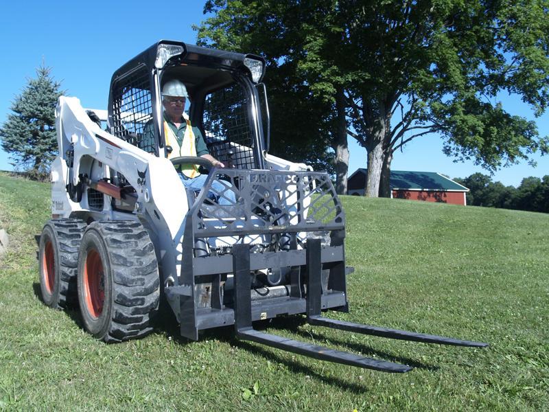 Bradco Pallet Forks Talet Equipment