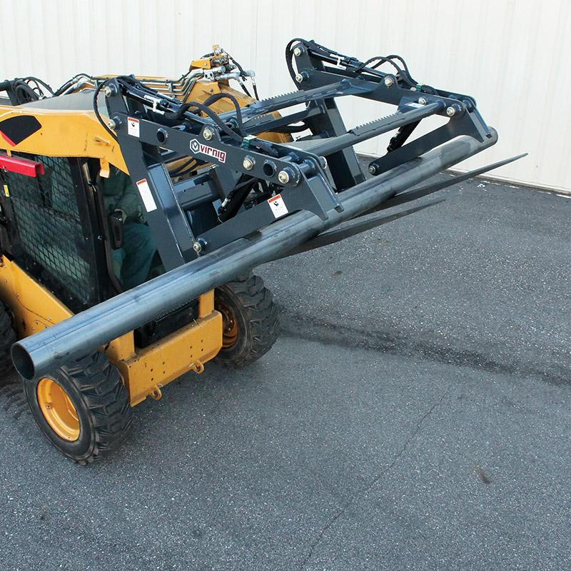 Virnig Pipe And Pole Grapple Talet Equipment