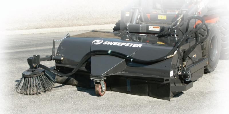Sweepster Vrs Pickup Sweeper Talet Equipment