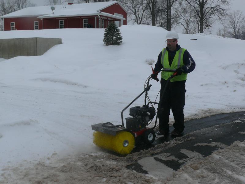 Sweepster Walk Behind Sweeper Wsp24 Talet Equipment